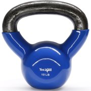 Yes4All KICY Kettbell, 10 lb, Vinyl
