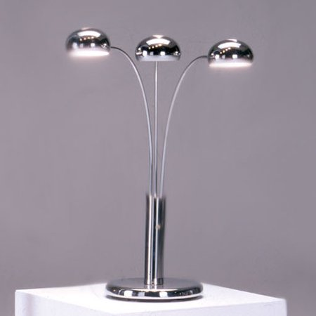 Bernards Spider 34 H Table Lamp With Dome Shade Walmart Com