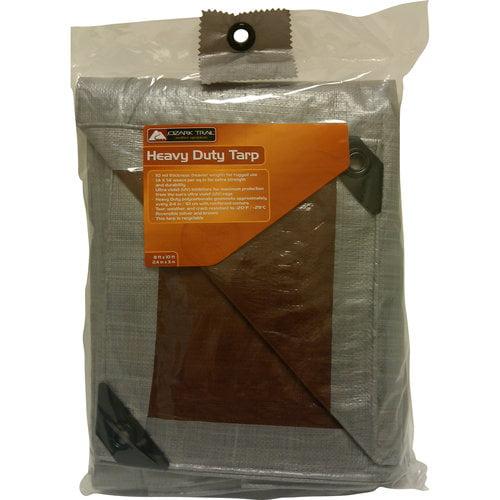Ozark Trail Heavy-Duty Tarp, Silver Brown by C&H Vina Joint Stock Company