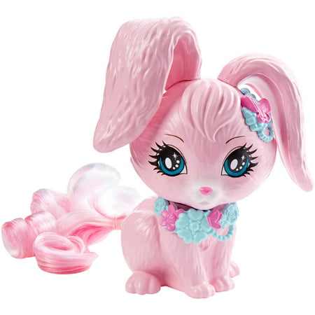 Barbie Endless Hair Kingdom Pet Bunny Figure, Pink - Christmas Barbie