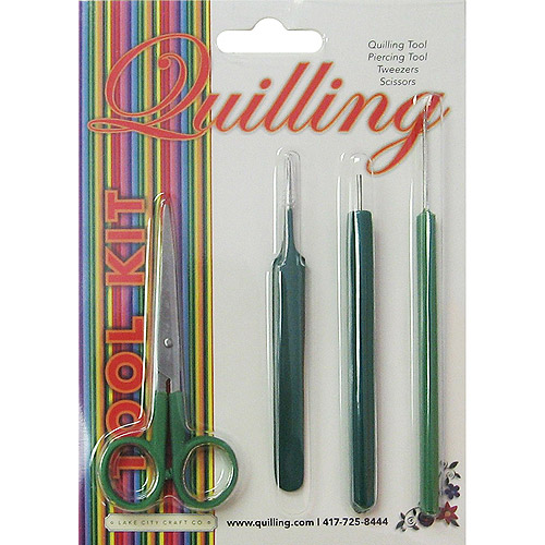Lake City Craft Quilling Tool 4 Piece Set