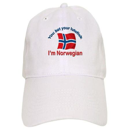 20214c86c CafePress - Norwegian Lutefisk - Printed Adjustable Baseball Cap