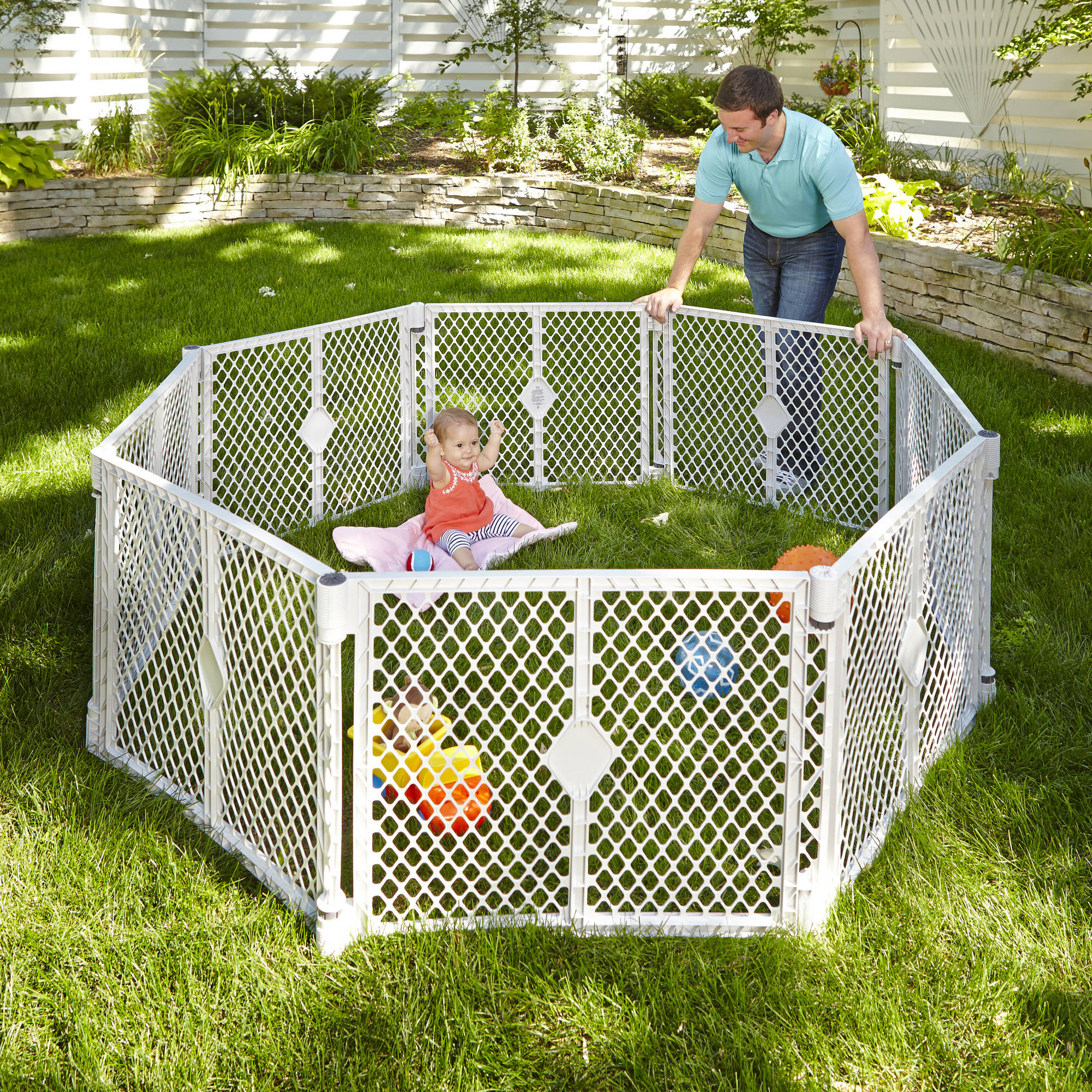 Outdoor Baby Play Yard Outdoor Designs