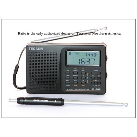 Tecsun PL-606 Digital PLL Portable AM/FM Shortwave Radio with DSP -