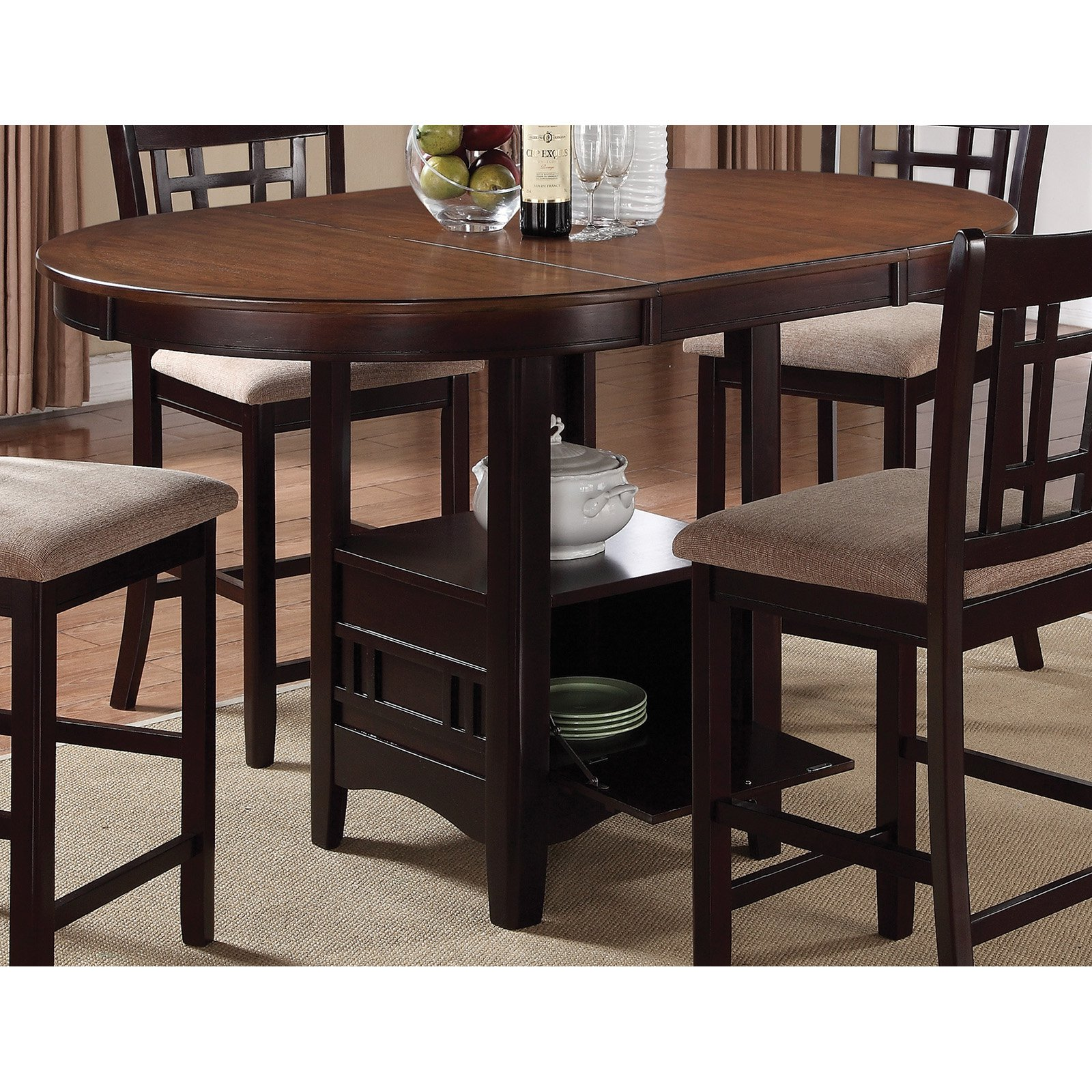 Coaster Company Lavon Counter Height Dining Table, Multiple Finishes by Coaster Company