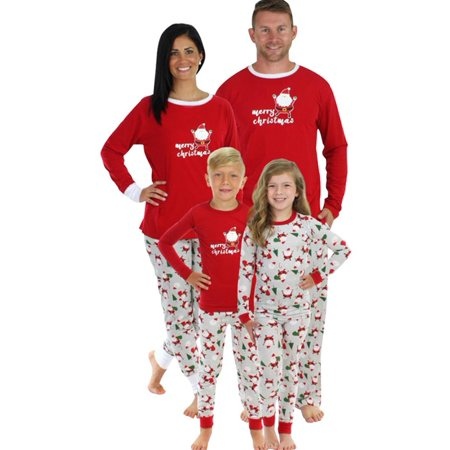 Nlife Merry Christmas Cute Santa Claus Print Christmas Family Homesuits - Cheap Plus Size Onesies