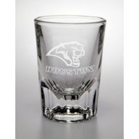Houston Cougars Deep Etched Classic Shot Glass