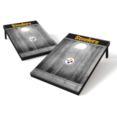 Tailgate Toss Wood NFL Pittsburgh Steelers Pittsburgh Steelers Nfl Tailgate Table