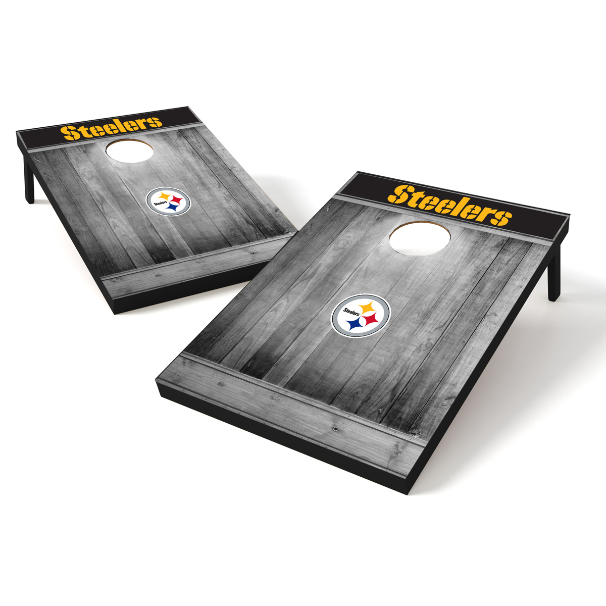 Tailgate Toss Wood NFL Pittsburgh Steelers