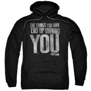 Fight Club - Owning You - Pull-Over Hoodie - Large