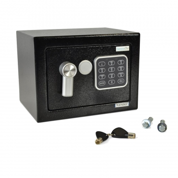 Serene Life Compact Electronic Safe with Mechanical Override, SLSFE12
