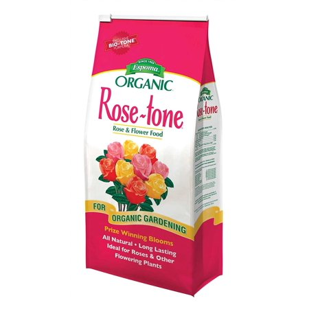 Image of RT8 8-Pound Rose-Tone Plant Food, An all natural and organic plant food enhanced with thousands of living microbes and is approved for organic gardening By Espoma