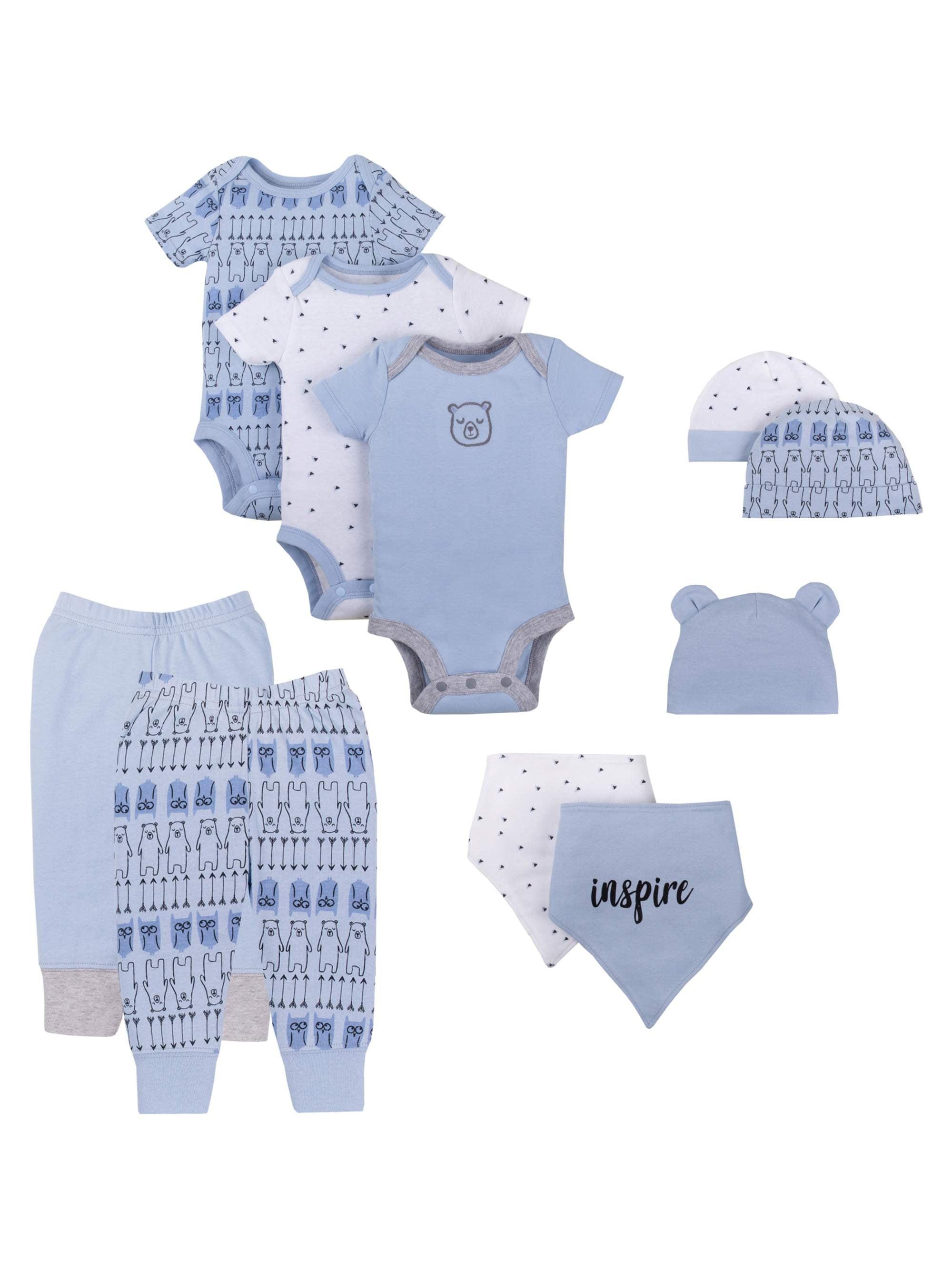 Lamaze Organic Baby Boys Pure Organic Cotton Pants 6 Months Gray