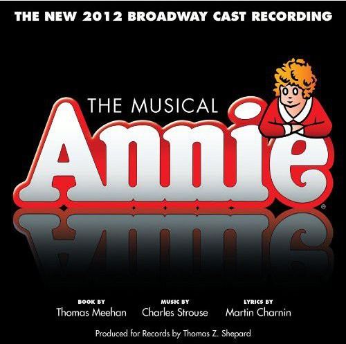 The Musical Annie Soundtrack (The New 2012 Broadway Cast Recording) (CD)