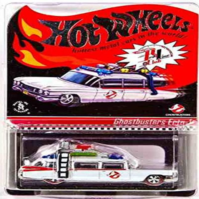 Mattel GHOSTBUSTERS ECTO-1 Hot Wheels RLC Club Exclusive ...
