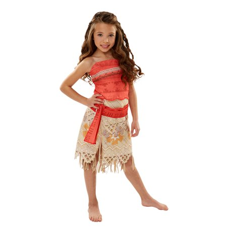 Disney's Moana Adventure Costume for Kids - Size SMALL - Halloween Mania