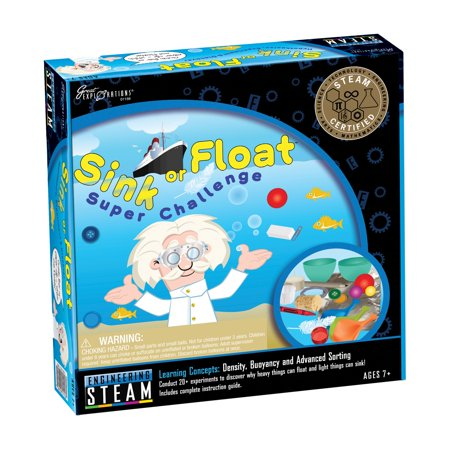 STEAM Learning System, Engineering: Sink or Float Super Challenge