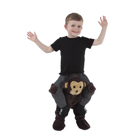 Toddler Boys Carry Me Buddy Ride On Shoulder Piggy Back Monkey Halloween Costume