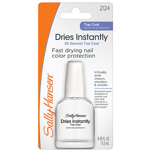 Sally Hansen Nail Polish Top Coat, 0.45 fl oz