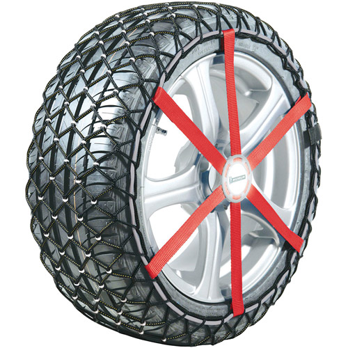 Michelin Easy Grip Snow Chain, For Sizes 215/60/15, 225/50/17, 225/55/16 and 205/65/16, Set of 2