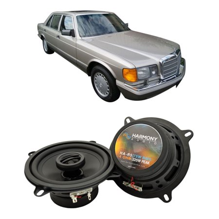 Fits Mercedes 380 Series 1981-1996 Rear Deck Replacement Harmony HA-R5 Speakers