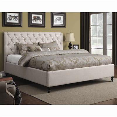 Coaster Furniture Farrah Upholstered Panel Bed