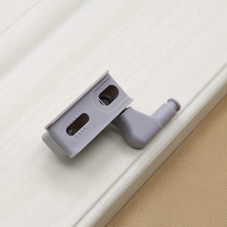 Universal Cabinet Hinge LED Sensor Light For Kitchen Living Room Bedroom Cupboard Closet Wardrobe Lamp - image 3 of 7