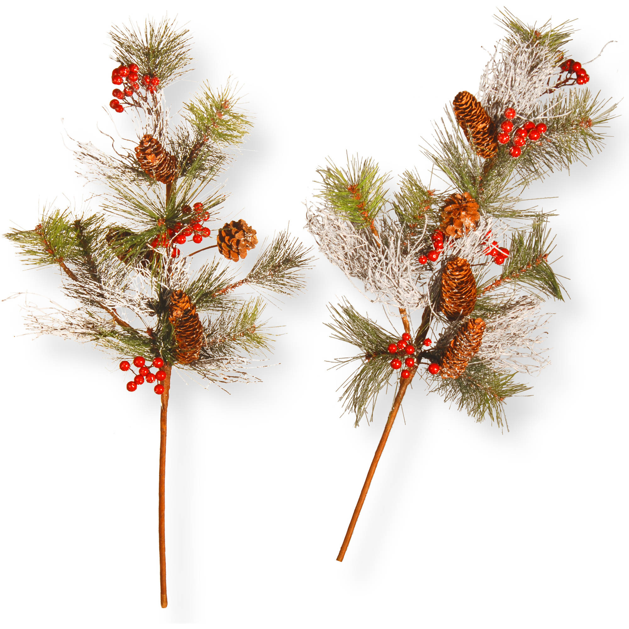 "26"" Pine Cone Branch Spray Set"
