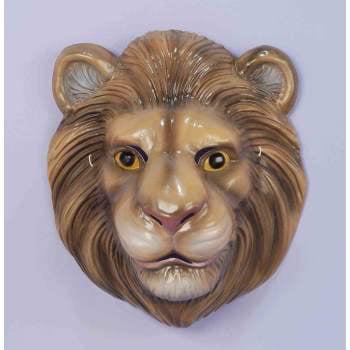 PLASTIC ANIMAL MASK-LION - Lion Mask
