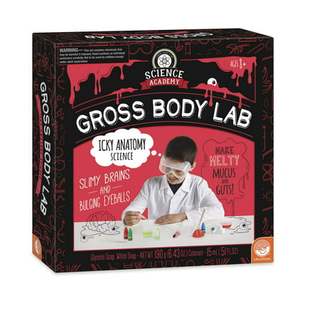 Science Academy: Science Academy Gross Body Lab (Other)](Gross Food Halloween Games)
