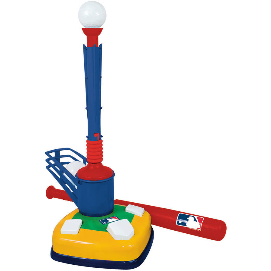 Franklin Sports MLB Super Star Batter 2-in-1 Teeball Set