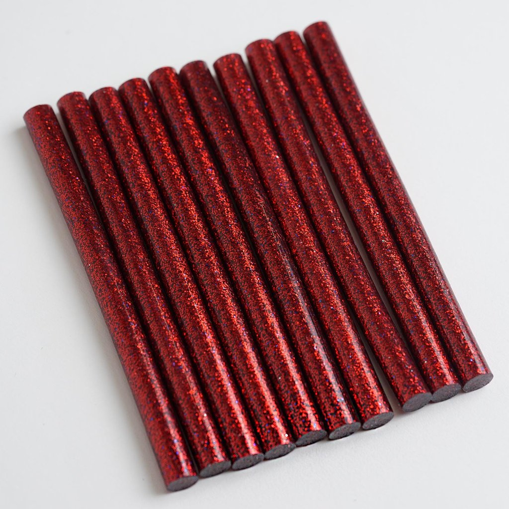 BalsaCircle 10 pcs DIY Crafts Hot Melt Glue Sticks - Art Wedding Party Decorations Scrapbooking Supplies