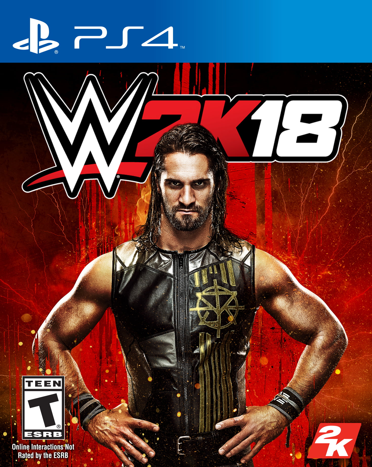 WWE 2K18, 2K, PlayStation 4, 710425479458 by TAKE 2 INTERACTIVE