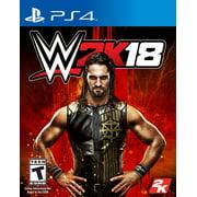 WWE 2K18, 2K, PlayStation 4, 710425479458