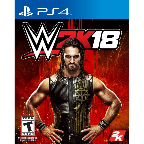 WWE 2K18, 2K, PlayStation 4, 710425479458
