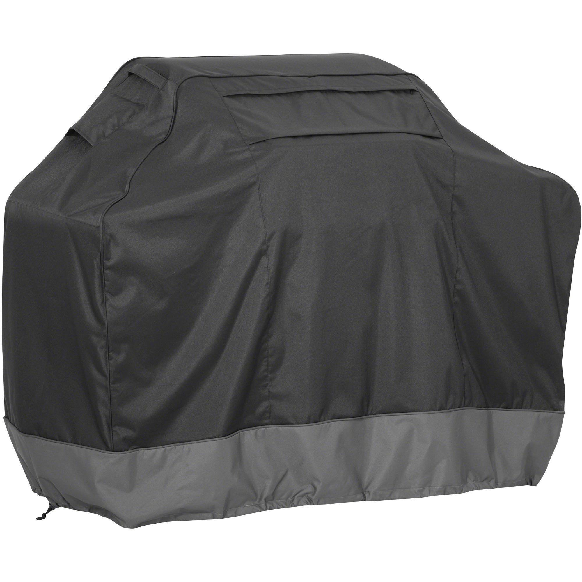 Classic Accessories FadeSafe BBQ Grill Cover, Medium, Raven and Dark Shadow