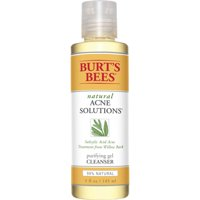 Burt's Bees Natural Acne Solutions Purifying Gel Cleanser, 5 fl oz