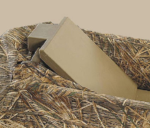 Beavertail 401062 Final Attack Duck Hunting Boat Marsh Brown Back Rest