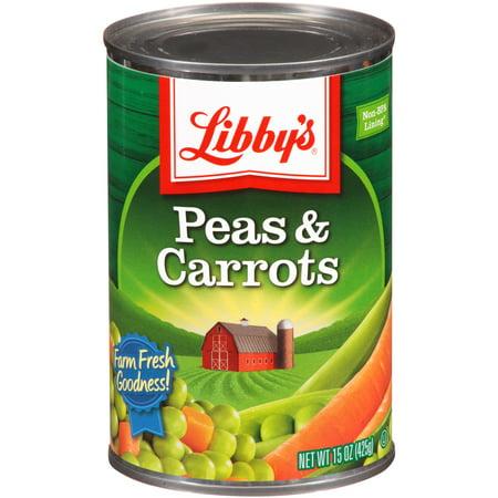 Peas & Carrots ((6 Pack) LIBBY'S PEAS & DICED)