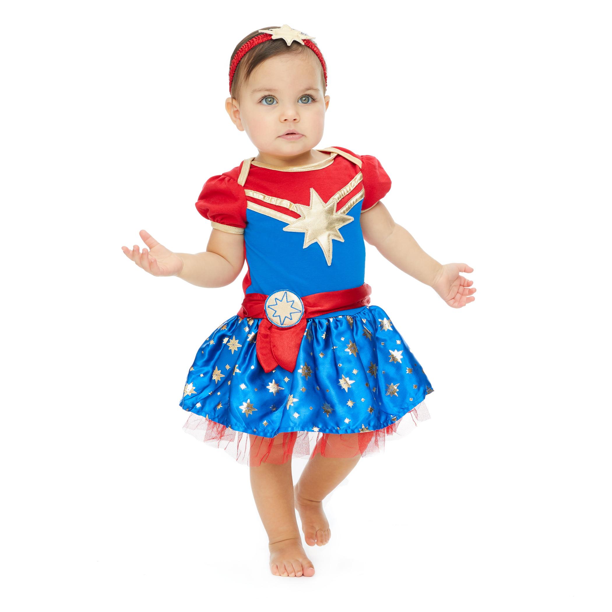Marvel Captain Marvel Baby Girls Costume Short Sleeve Dress Superhero 6 9 Months Walmart Com Walmart Com Carol danvers full set includes: marvel captain marvel baby girls costume short sleeve dress superhero 6 9 months walmart com