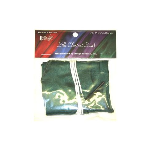 Hodge Silk Bb and A Clarinet Swab Green by Generic