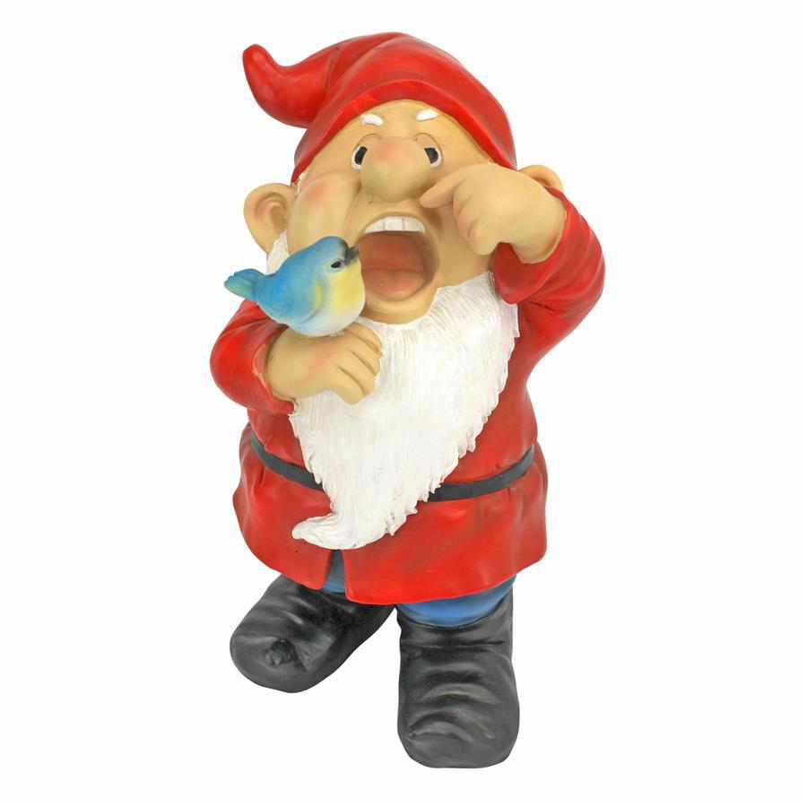 Gezundheit Gunther, Sneezing Garden Gnome Statue by Design Toscano