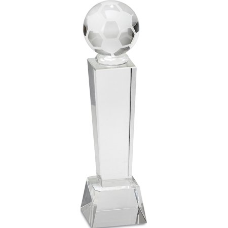 Large Optic Crystal Soccer Award - image 1 of 1
