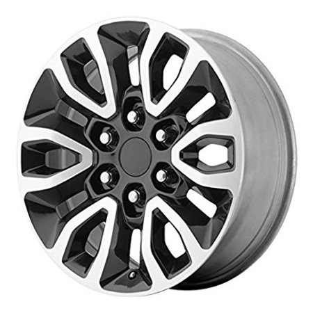 OE Performance PR151 17x8.5 6x135 +34mm Black/Machined Wheel (2007 F150 4 Wheel Drive Not Engaging)