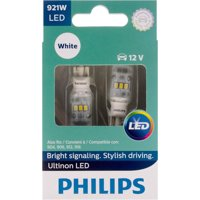 Philips Ultinon LED 921WLED, W2,1X9,5D, Plastic, Always Change In Pairs!