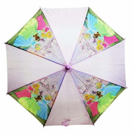 (Disney Princess Aurora, Tiana, and Cinderella Kids Molded Handle Umbrella)
