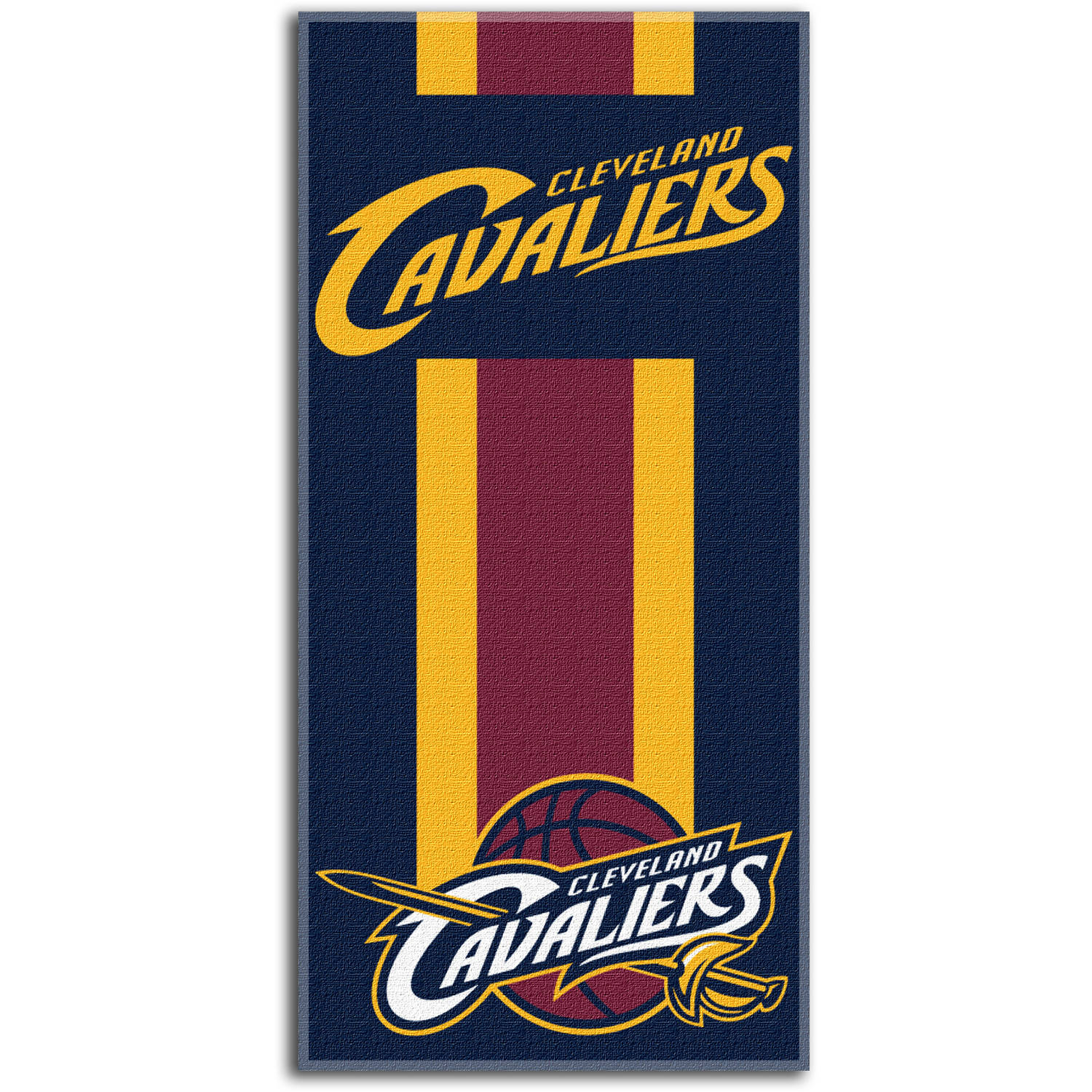 "NBA Cleveland Cavaliers ""Zone Read"" 30"" x 60"" Beach Towel"