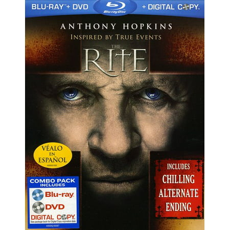 The Rite (Blu-ray + DVD + Digital Copy) - Andrea Tantaros Halloween