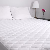 MaxCool TWIN XL Quilted Mattress Pad - Hypoallergenic Bedding - White - Soft - Water Resistant - Durable