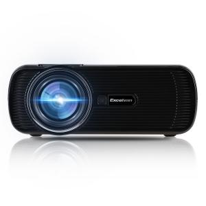 Excelvan mini portable Multimedia LCD LED Projector 800x480 pixels 1500 lumens HDMI/USB/VGA/AV/ATV/SD